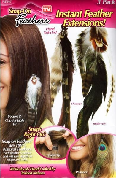 25 beautiful feather extensions ideas on pinterest hair wholesaleas seen on tv 3 pack snap on feathers extensions case of 20 pmusecretfo Image collections