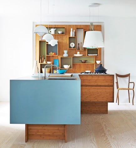 Love the blue square <3: Kitchens Interiors, Kitchens Design, Design Interiors, Small Kitchens, Interiors Design, Blue Kitchens, Design Kitchens, Modern Kitchens, Design Home
