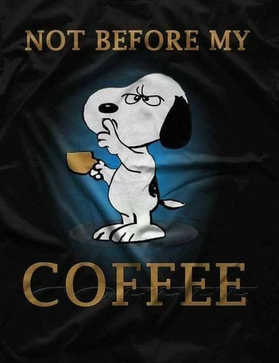 Exchange Dr Pepper for coffee and this is me!