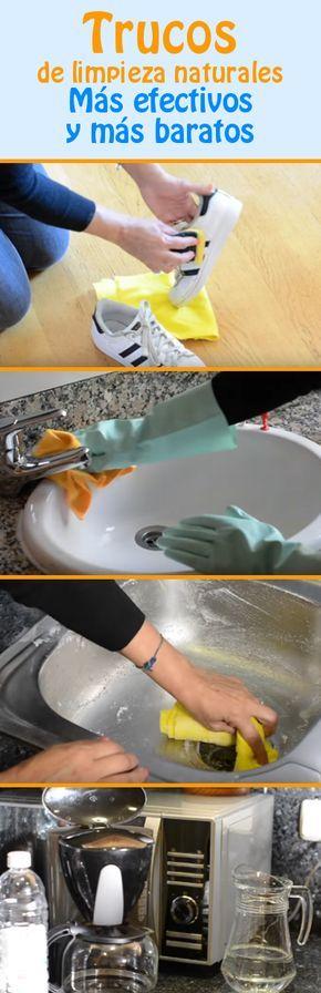 Trucos de limpieza naturales. ¡Más efectivos y más baratos!