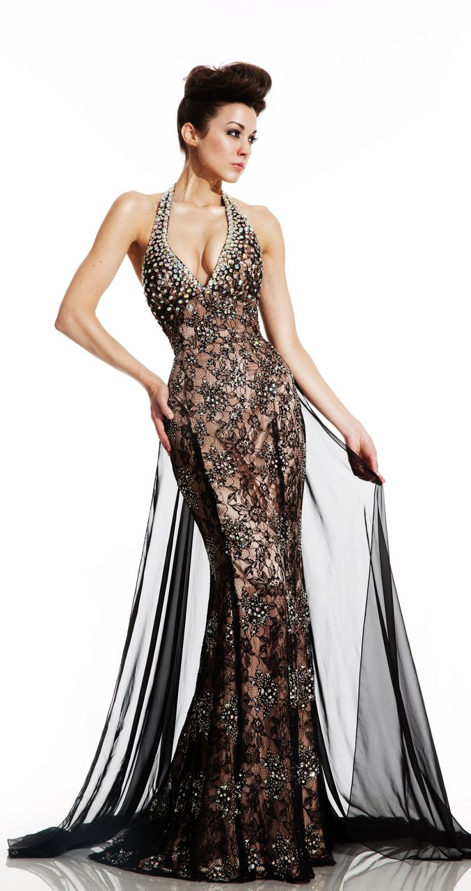 Evening dress definition 2