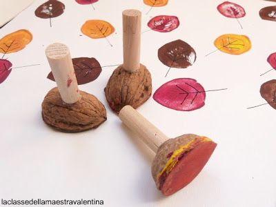 La classe della maestra Valentina: nut stamp