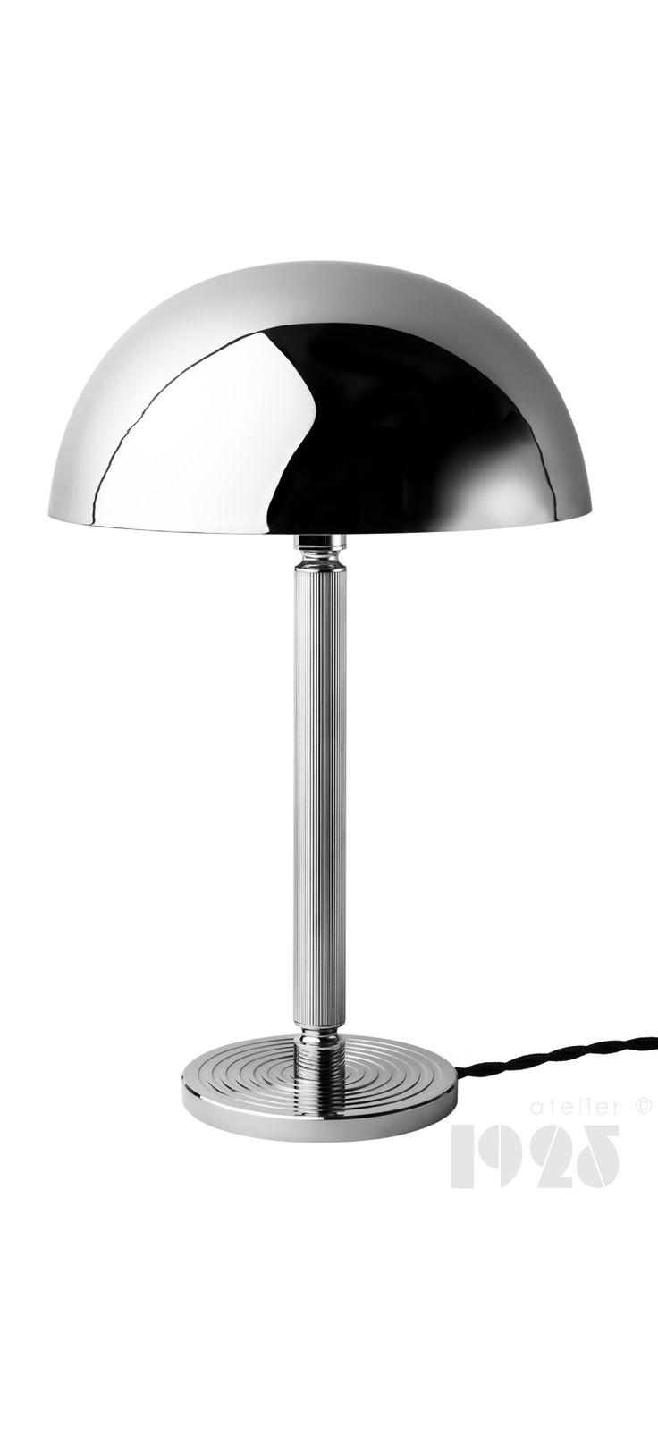 Art Deco inspired table lamp made by ATELIER 1925. task lamp, handmade, timeless, elegant, unique, design, 20's, 30's