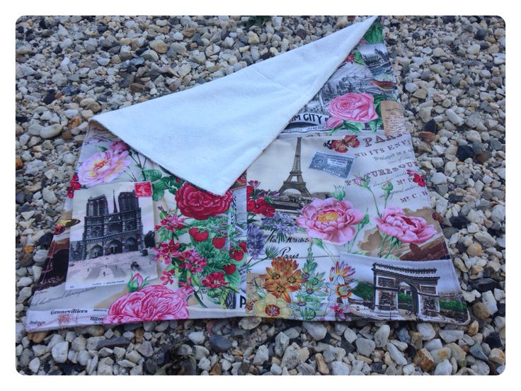 Paris Dreaming. One off Small Blanket 47x57cm. $10.