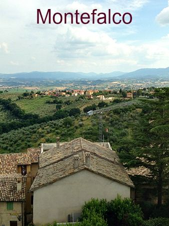 Montefalco in #Umbria, Italy... It's not that easy to get in!