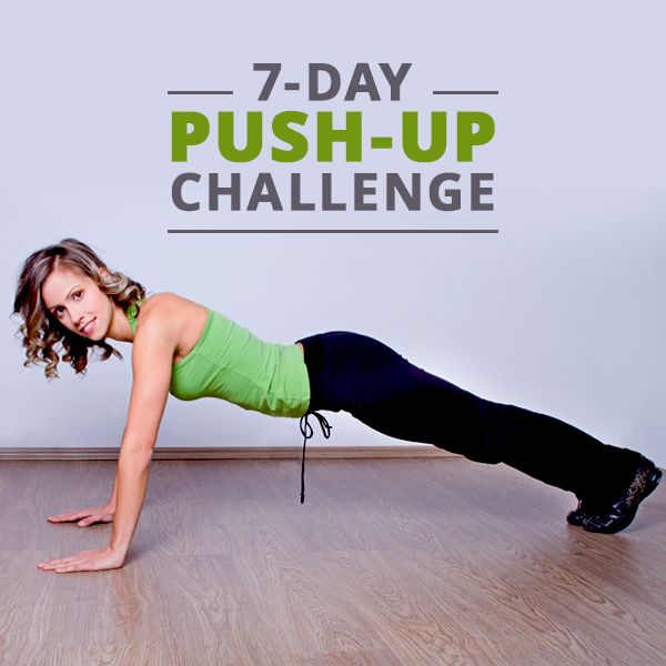 "before you say, ""No way can I do a push-up, let alone a push-up challenge"", think again!  #pushupchallenge #fitnesschallenge"