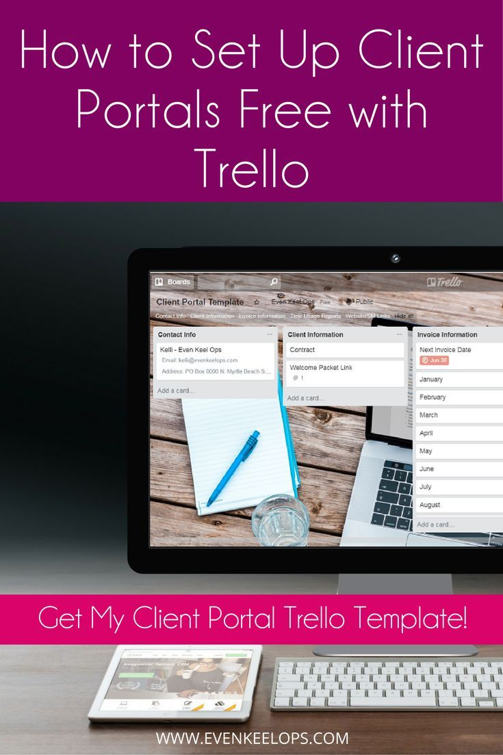 How to Set Up Client Portals Free with Trello