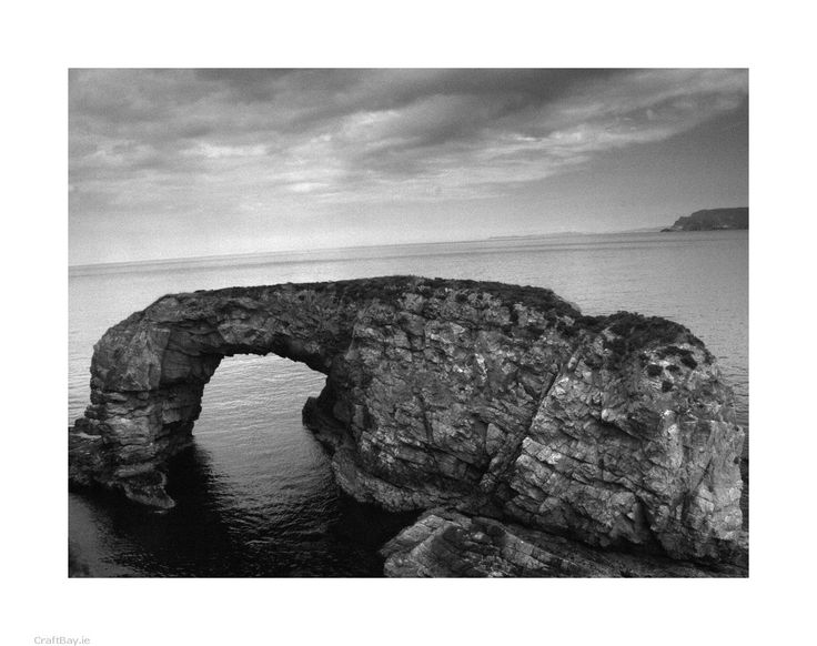 The Great Pollet Arch in north County Donegal, Ireland. Located on the Fanad Peninsula.