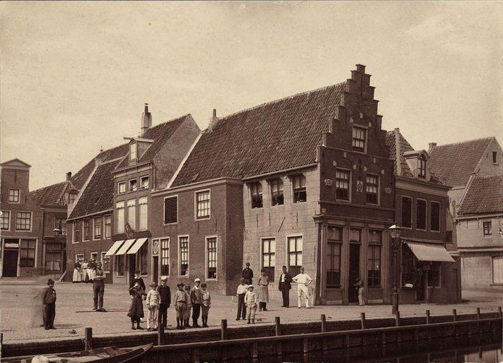 Waagplein Alkmaar (jaartal: Voor 1900) - Foto's SERC
