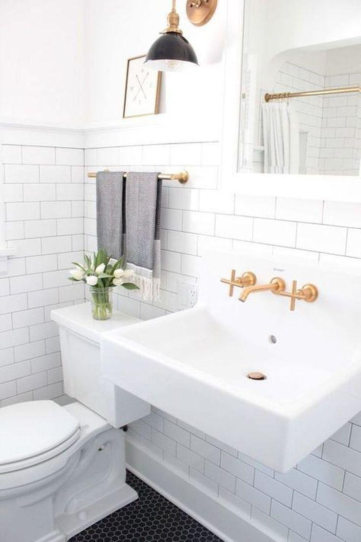 stunning farmhouse small bathroom design ideas 08 half on stunning small bathroom design ideas id=93988
