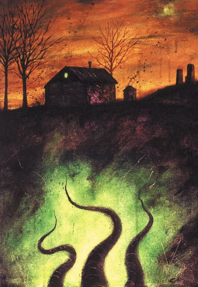 """sect-of-the-idiot: """"""""The Dunwich Horror"""" by Robert Randle   Redbubble) """""""