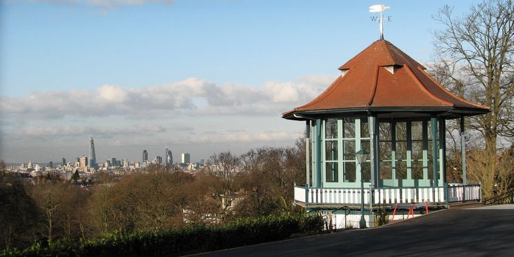 The place! The Bandstand in the Horniman Museum :) Look at the views! <3 Perfect!