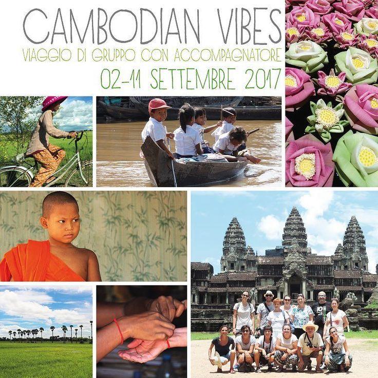 Ecco le date del nostro prossimo gruppo in Cambogia con accompagnatore dall'Italia e guida locale!  Non vediamo l'ora di condividere con voi gli scenari irripetibili e le emozioni infinite di questo viaggio indimenticabile   Per info visitate il link in bio :) #cambogia #viaggiodigruppo #estate2017 #sudestasitico #cambogiaviaggi #travelways #turismoresponsabile #turismosostenibile #travelgram #wanderlust #incontroautentico new pics on Instagram
