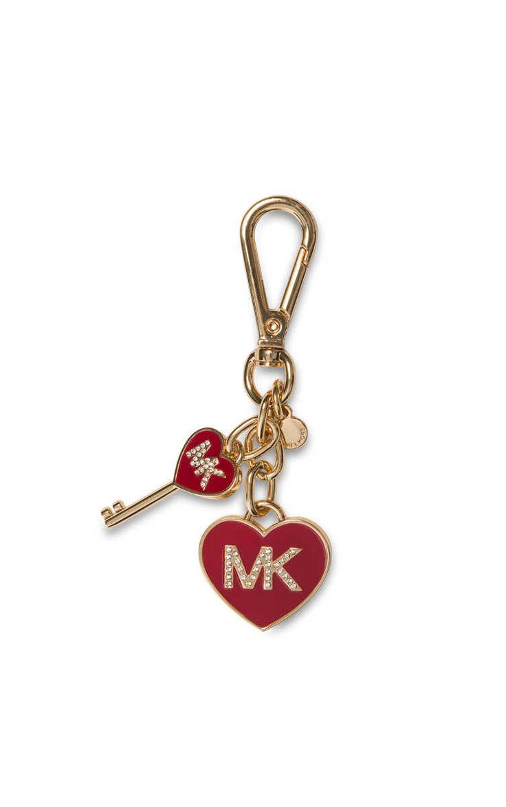 Nyckelring Enamel Heart CHILI - Michael - Michael Kors - Designers - Raglady