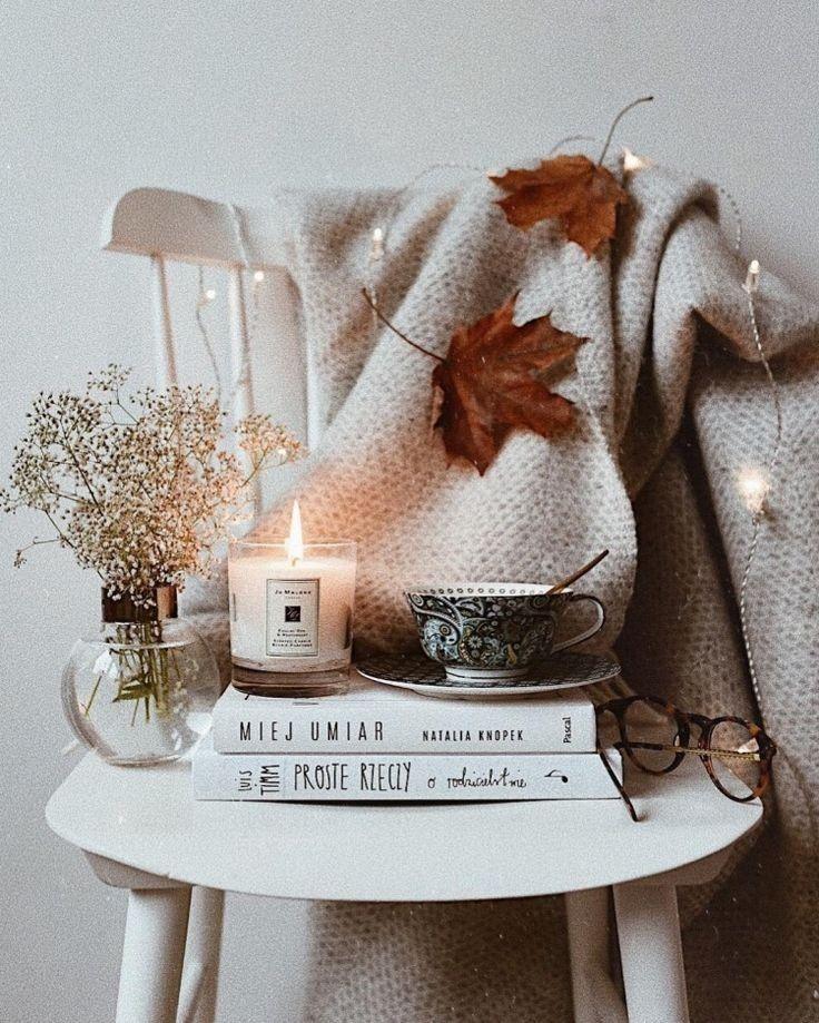 super Decken und Kerzen 🍂