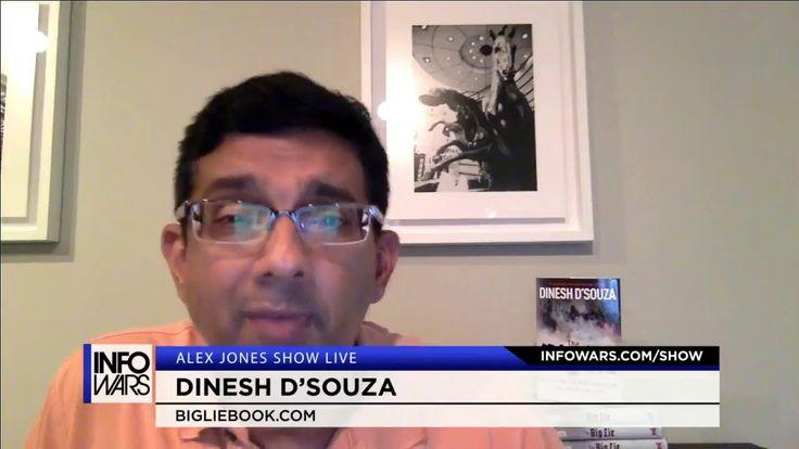 Alex Jones - HD Commercial Free - Wed (8-2-17) Dinesh D'Souza, James Wes...