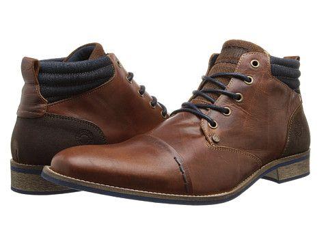 Type Z Renton Brown Leather - 6pm.com