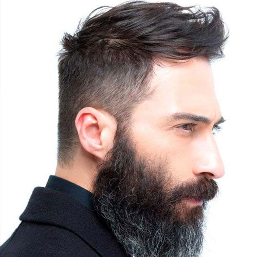 Hairstyles For Men With Thin Hair this is great for men who have thin hair on the crown the sides are faded and a bit of volume are kept on the top to take away the attention from the Hairstyles For Men With Thin Hair