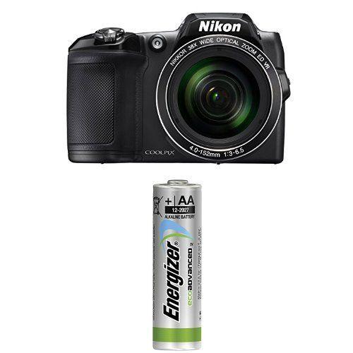 Nikon Coolpix L840 Digitalkamera + Energizer Eco Advanced Batterien / AA / 4er Pack - http://kameras-kaufen.de/products/schwarz-nikon-coolpix-l840-digitalkamera-16-38-7-6