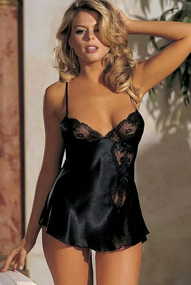 Black Satin Slip Black Silk Slip Things To Wear Lace