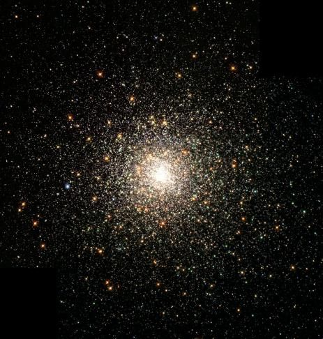 This stellar swarm is M80 (NGC 6093), one of the densest of the 147 known globular star clusters in the Milky Way galaxy. Located about 28,000 light-years from Earth, M80 contains hundreds of thousands of stars, all held together by their mutual gravitational attraction. - Courtesy Photo | NASA
