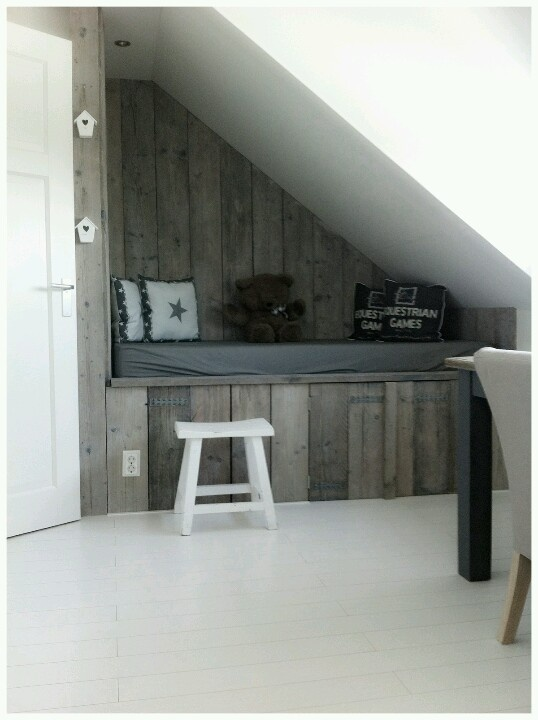 great use of space - love a good nook