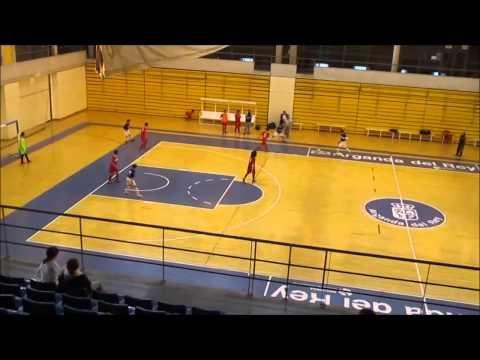 Partido de fútbol sala cadete temporada 2014/2015 fase B, entre los equipos de E. F. Sala Arganda y Oroquieta Espinillo, con el resultado final de 8 a 2 a favor de Oroquieta Espinillo.