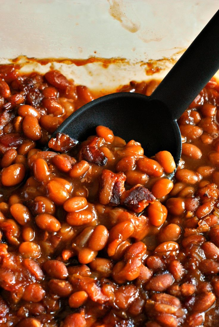Grandma S Baked Beans Recipe Bacon Celery And Baked Beans