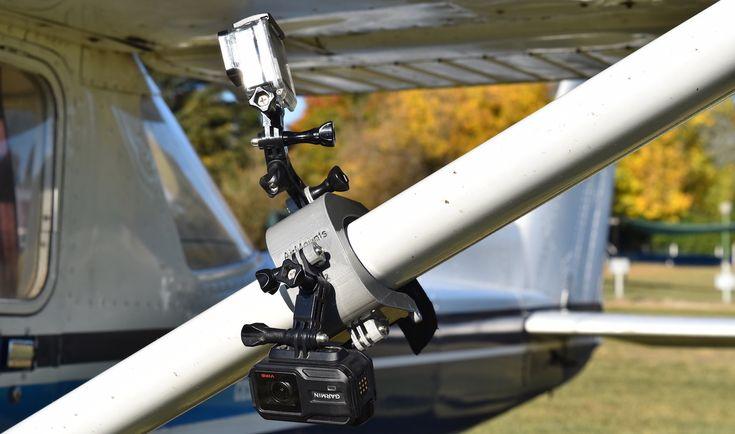 Cómo montar 2 cámaras GoPro / VIRB en un Cessna 150 / 152