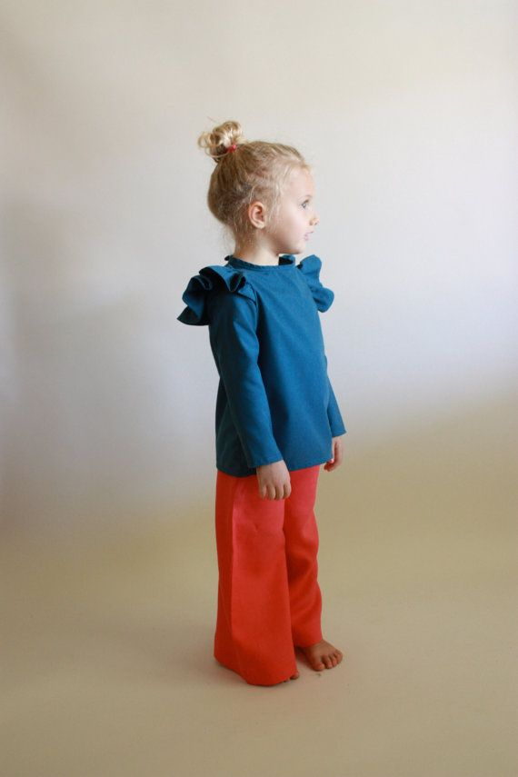 the ava blouse / pdf sewing pattern 12 months by toosweetspatterns, $6.00