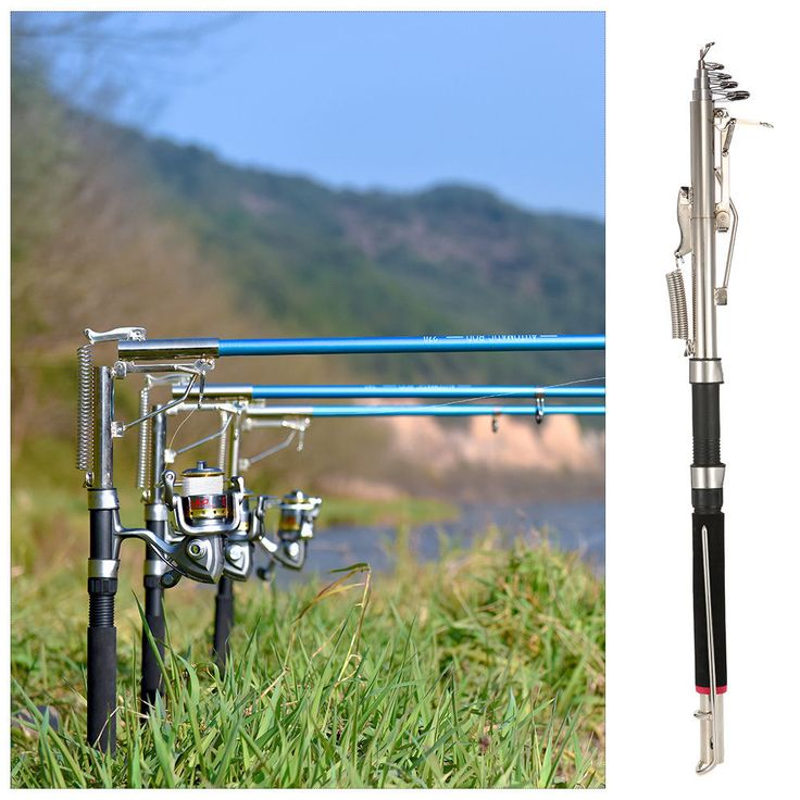Best 25 fishing rod holders ideas on pinterest rod for River fishing pole
