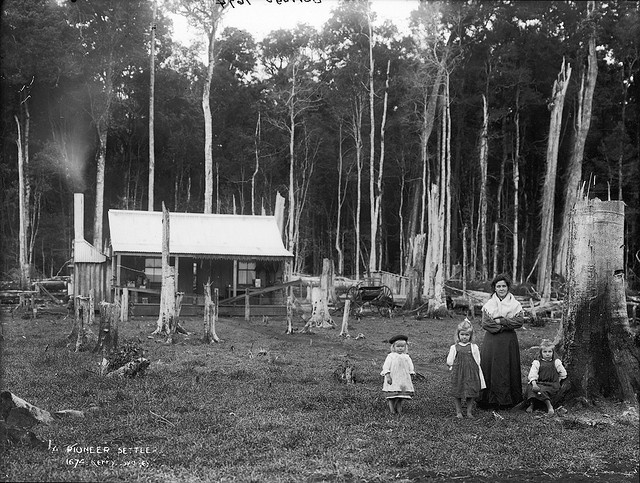Settlers hut Australia Flickr Commons « Photo of the Day – Powerhouse Museum