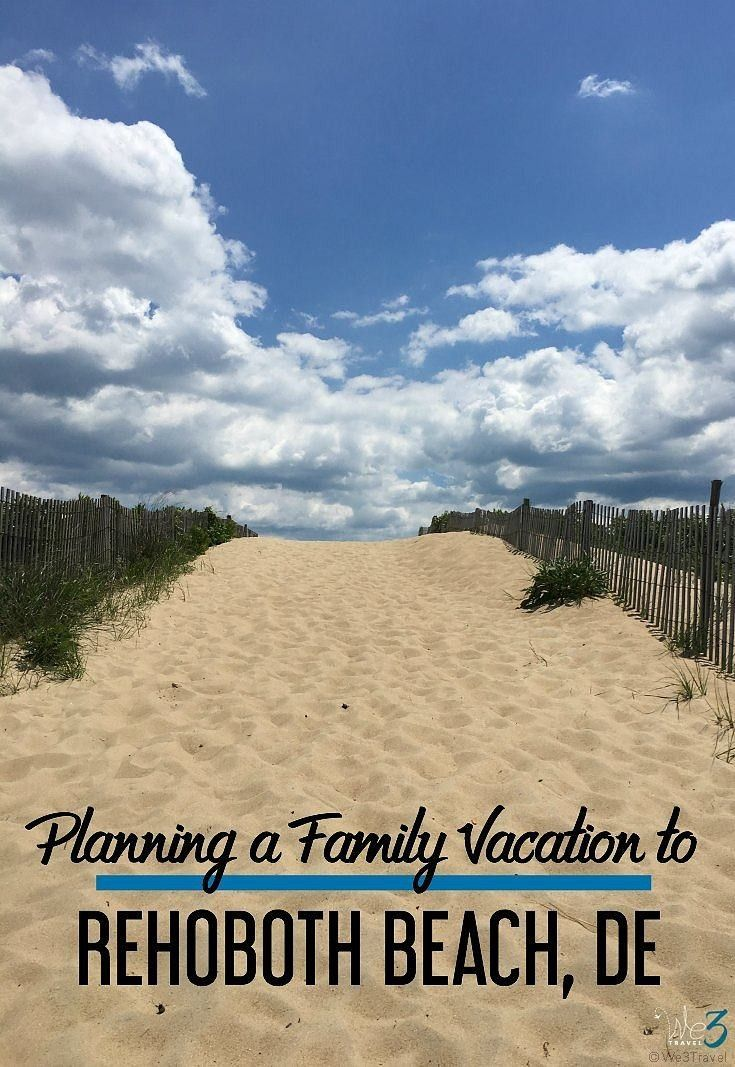 Your ultimate guide to planning a summer vacation in and around Rehoboth Beach, Delaware including things to do in Rehoboth Beach and…