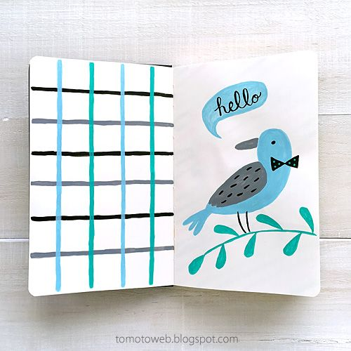 tomoto : Handsome Birds