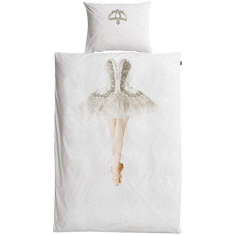 Buy Snurk Ballerina Single Duvet Cover and Pillowcase Set Online at johnlewis.com