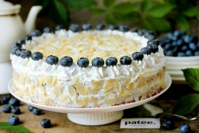 Торт с маскарпоне Белая королева