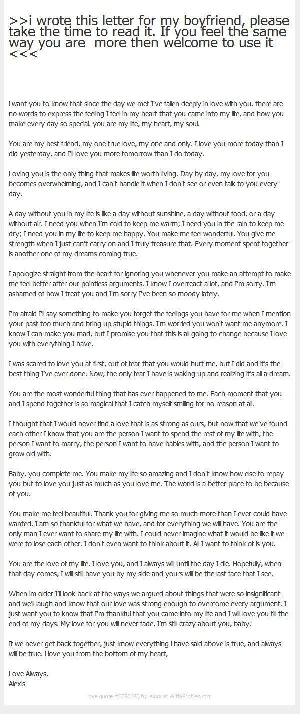 An Open Letter To My Ex Boyfriend T Letter To My Boyfriend Love