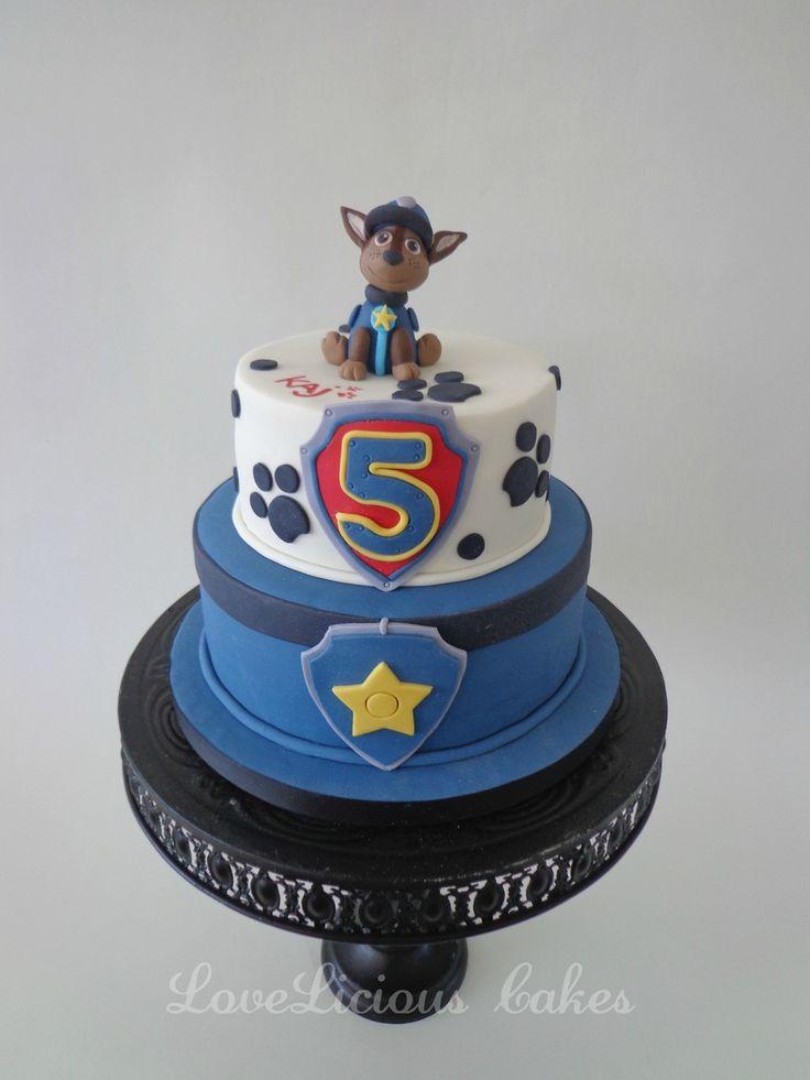 Torta de la Patrulla Canina. Perfecto para una celebración temática.#PatrullaCanina #tarta