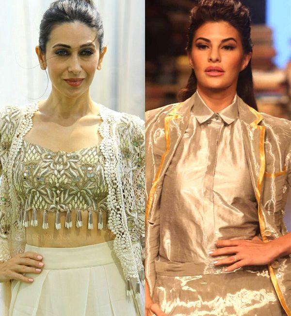 Jacqueline Fernandez says she was under pressure to play Karisma Kapoor's part in Judwaa 2 #FansnStars