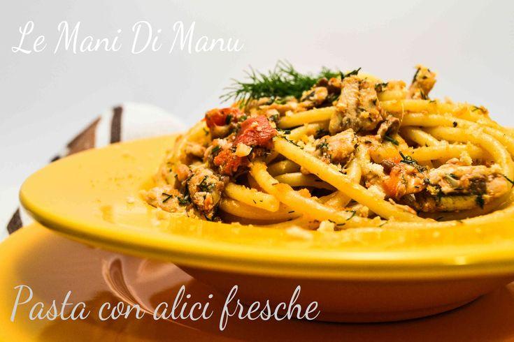 Spaghetti alle alici fresche