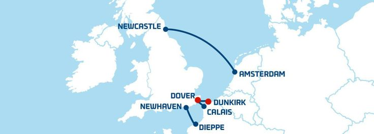 Dover-Dunkirk-DoverTravelling on DFDS Seawaysferry to France from Dover is easy. Just a short cruiseacross the Channel