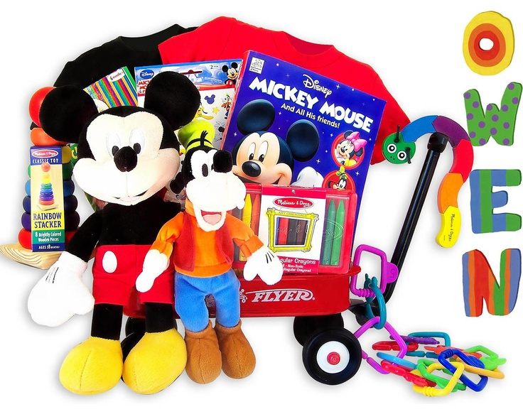 26 best silbing gifts images on pinterest gift sets book gifts disney mickey mouse toddler wagon gift personalization avail personalized baby negle Image collections
