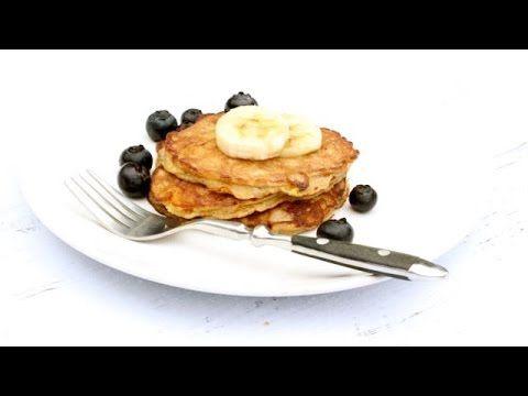 2-Ingredient Banana Pancakes (Grain-Free!) - YouTube