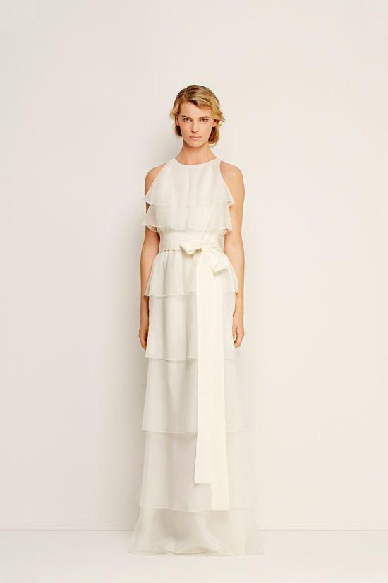 14 besten Abiti lunghi Bilder auf Pinterest | Hochzeitskleider ...