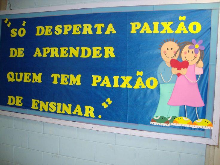 cartaz do professor
