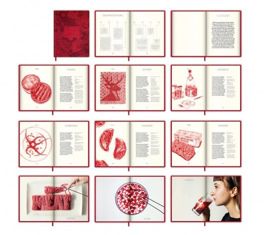 "The In Vitro Meat Cookbook by Next Nature | Using the format of the cookbook as a storytelling medium, the In Vitro Meat Cookbook is a visually stunning exploration of the new ""food cultures"" lab-grown meat might create. This book approaches lab-grown meat not just from a design and engineering perspective, but also from a societal and ethical one."
