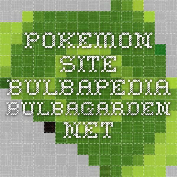 Pokemon site bulbapedia.bulbagarden.net