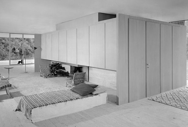 farnsworth house, (MvDR)
