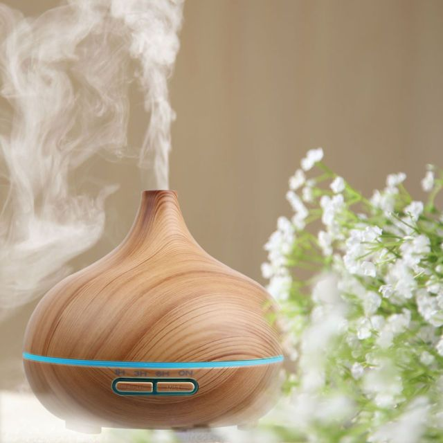 Led Aroma Diffuser Essential Oil Diffuser Steam Electric Ultrasonic Cool Mist Uk Humidifier Essential Oils Ultrasonic Diffuser Diffuser
