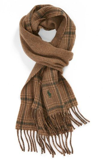 Polo Ralph Lauren Double Face Scarf | Nordstrom